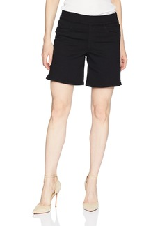 NYDJ Women's Pull On Short With Side Slit Shorts