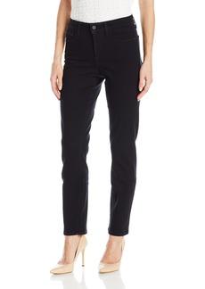 NYDJ Women's Samantha Slim Jeans with Pocket Detail Black