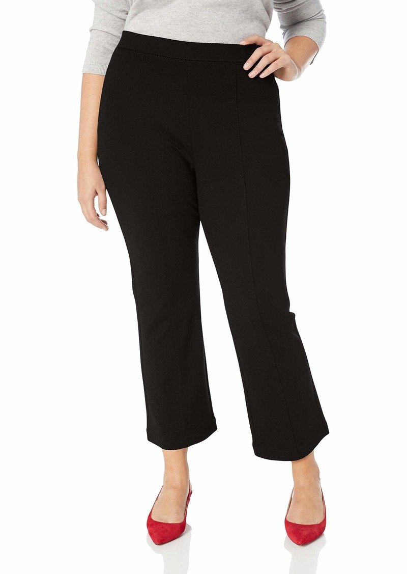 NYDJ Women's Size Plus Cropped Boot Pull ON Pants