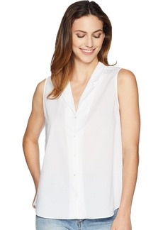 NYDJ Women's Sleeveless Button Detail Top  M