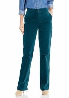 NYDJ Women's Velvet HIGH Waisted Trouser