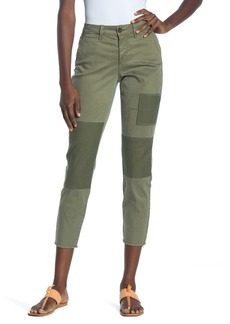 NYDJ Patched Skinny Chino Pants