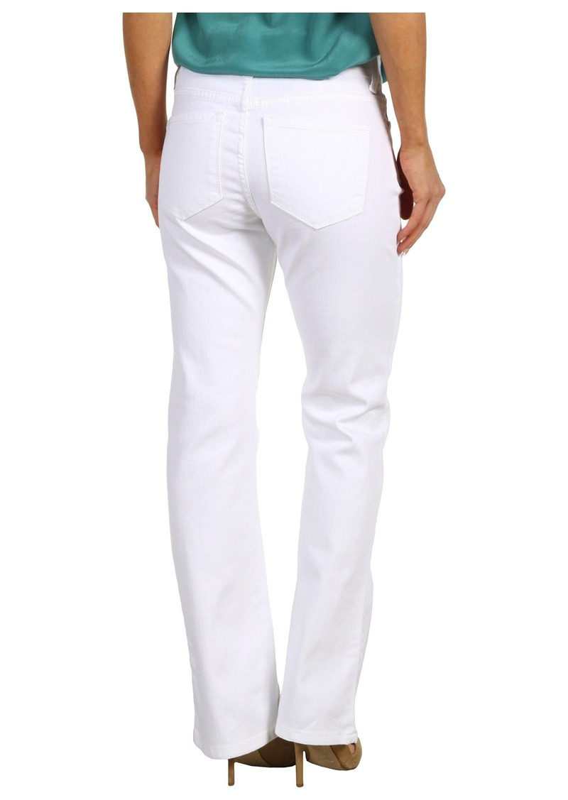 NYDJ Petite Barbara Bootcut in Optic White