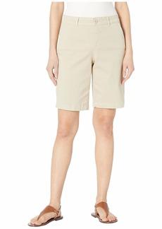 NYDJ Petite Bermuda Shorts in Feather