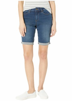 NYDJ Petite Briella Shorts in Cooper