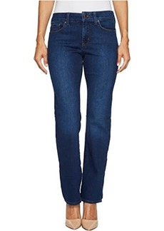 NYDJ Petite Marilyn Straight Jeans in Cooper
