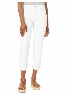 NYDJ Petite Sheri Slim Ankle in Optic White