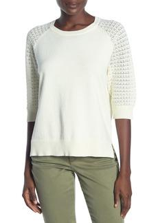 NYDJ Pointelle Crew Neck Sweater