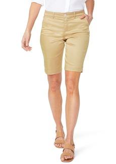 NYDJ Polka Dot Bermuda Shorts