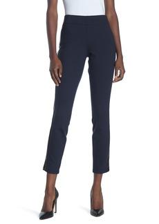 NYDJ Pull-On Faux Leather Stripe Pants