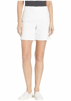 NYDJ Pull-On Shorts in Optic White