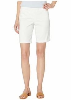 NYDJ Pull-On Shorts Roll Cuff in Optic White
