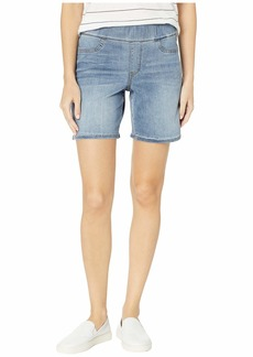 NYDJ Pull-On Shorts w/ Slit in Cano