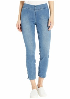 NYDJ Pull-On Skinny Ankle Jeans in Clean Brickell