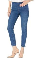 NYDJ Pull-On Skinny Ankle Jeans w/ Side Slit in Presidio
