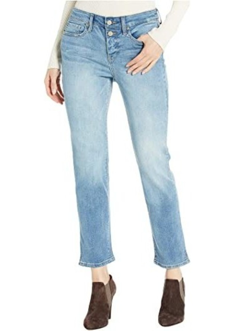 NYDJ Sheri Ankle Jeans with Mock Fly in Biscayne