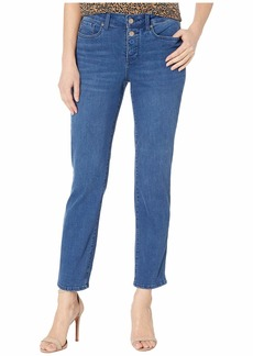 NYDJ Sheri Ankle Jeans with Mock Fly in Nevin