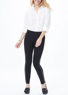 NYDJ Side Stripe Pull-On Leggings (Petite)