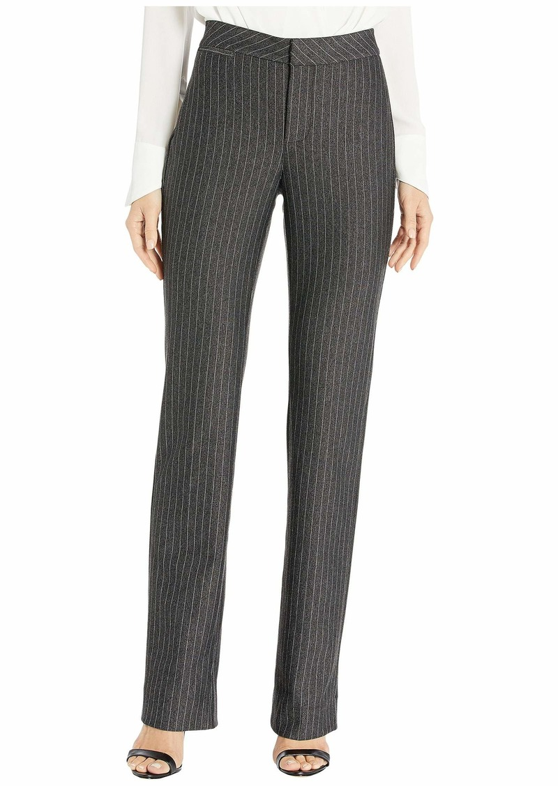 NYDJ Slim Trousers in Sonoma Stripe