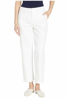 NYDJ Straight Ankle Chino in Optic White