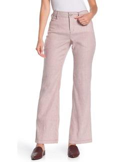NYDJ Striped Trouser Pants