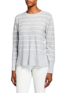 NYDJ Striped Wool-Blend Sweater