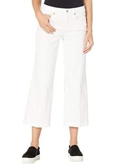 NYDJ Teresa Wide Leg Ankle Jeans in Optic White