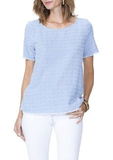 NYDJ Textured Woven T-Shirt