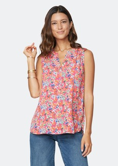 NYDJ The Sleeveless Perfect Blouse - Petunia Blossoms - 2X - Also in: XS, L, 3X
