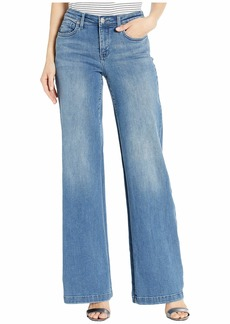 NYDJ Wide Leg Trouser Jeans in Brickell