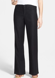 NYDJ Wylie Five-Pocket Linen Trousers (Petite)