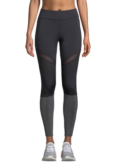 Nylora Arwen Metallic Mesh Performance Leggings