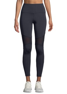 Nylora Dorian High-Rise Mesh Panel Activewear Leggings