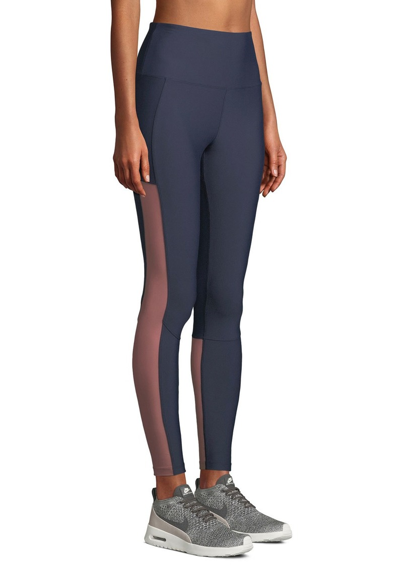 Nylora Dylan High-Rise Mesh Leggings