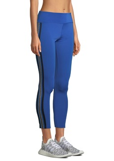 Nylora Mitchell Racer-Stripe Performance Leggings