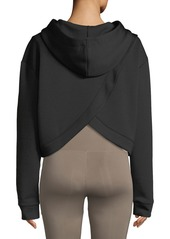 Nylora Morrison Cropped Activewear Hoodie Sweatshirt Top