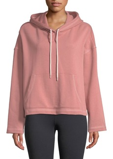 Nylora Mila Hooded Cotton Active Pullover Sweater