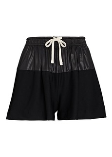 Nylora Telly Mesh-Trimmed Shorts