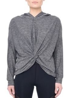 Nylora Twain Front-Knot Hoodie