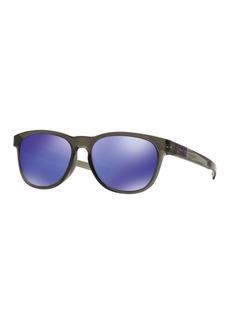 Oakley 55mm Round Flash Sunglasses