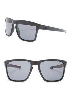 Oakley 57mm Silver XL Square Sunglasses
