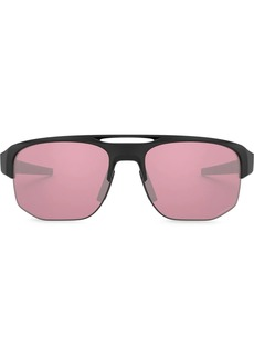 Oakley aviator shaped sunglasses