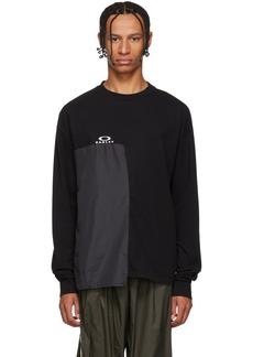 Oakley Black Multifabric Long Sleeve T-Shirt