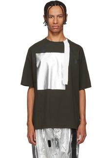 Oakley Brown Metal Detail T-Shirt