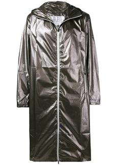 Oakley metallic zipped coat