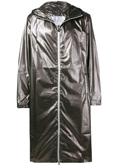 Oakley metallic zipped coat