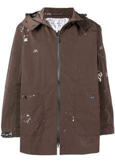 Oakley mid-length trench coat