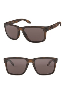 Oakley 59MM Tortoiseshell Rectangular Sunglasses