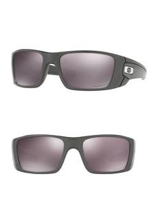 Oakley 60MM Polarized Rectangle Sunglasses