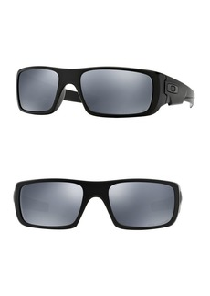 Oakley 60MM Polarized Rectangular Sunglasses